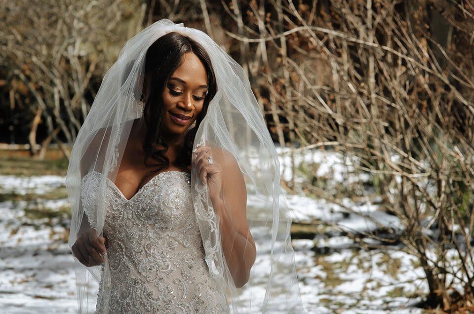 Keondra's Bridals: Snow Day