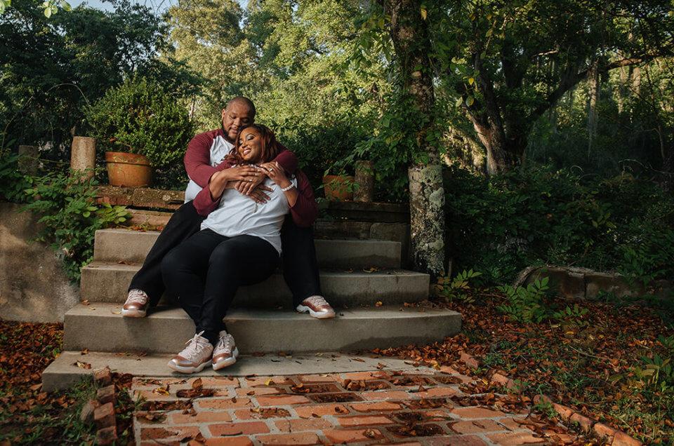 Ashleigh + Yancey: Afton Villa Gardens