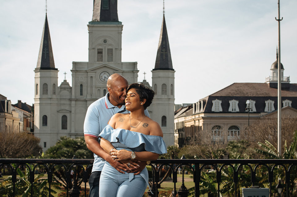Kandace + Thad: New Orleans French Quarter