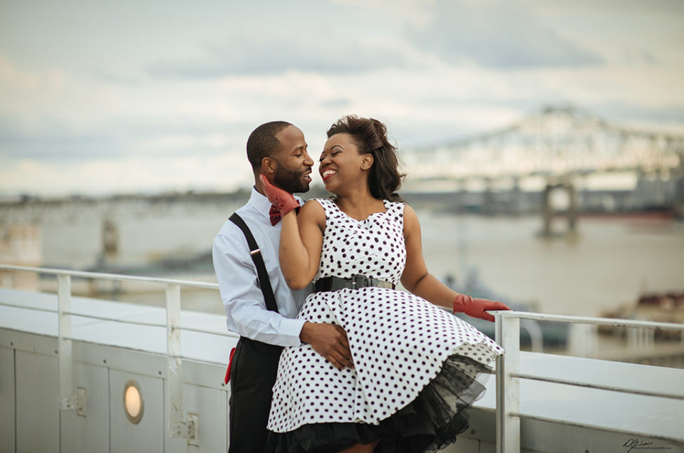 DeShara + Channing: Downtown Baton Rouge